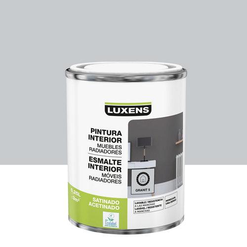 Esmalte de interior luxens granit 5 satinado 0,25l