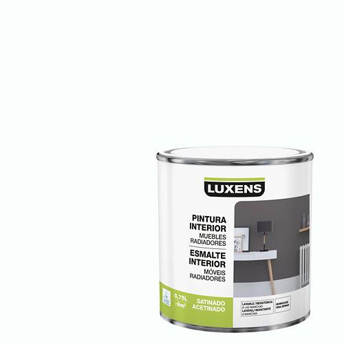 Esmalte de interior luxens blanco satinado 0,75l