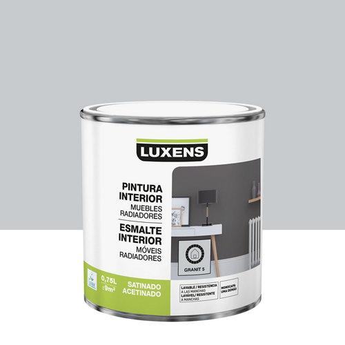 Esmalte de interior luxens granit 5 satinado 0,75l