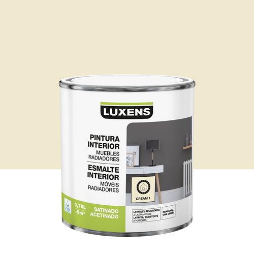 Esmalte de interior luxens satinado cream 1 0,75l