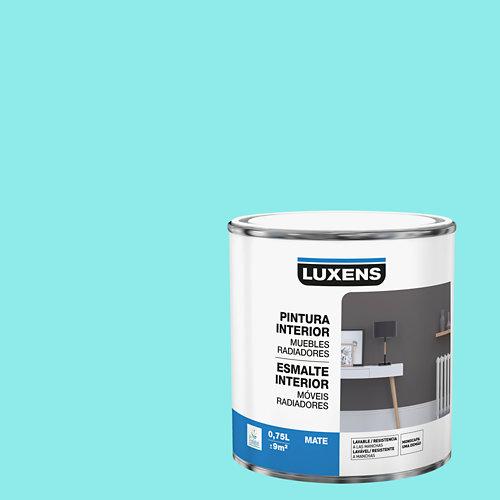 Esmalte de interior para muebles y radiadores mate luxens 750 ml miami 6