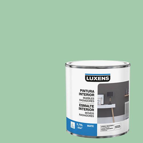 Esmalte de interior para muebles y radiadores mate luxens 750 ml cactus 5