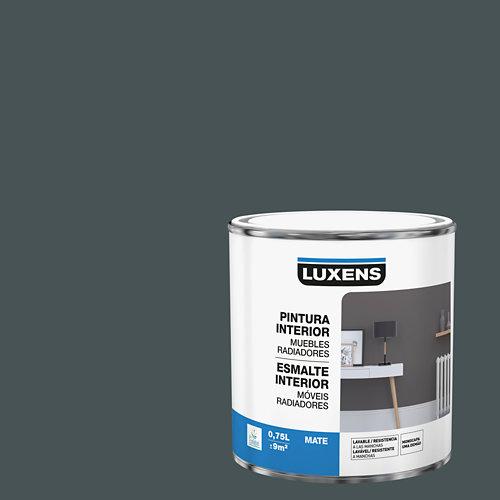 Esmalte de interior para muebles y radiadores mate luxens 750 ml granit 1