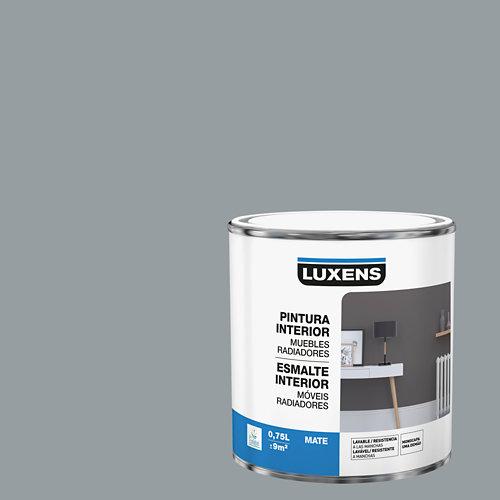 Esmalte de interior para muebles y radiadores mate luxens 750 ml granit 3