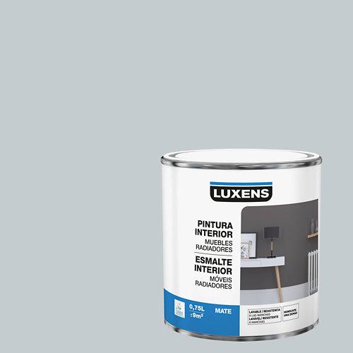 Esmalte de interior para muebles y radiadores mate luxens 750 ml granit 5