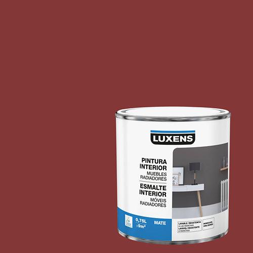 Esmalte de interior para muebles y radiadores mate luxens 750 ml carmen 2