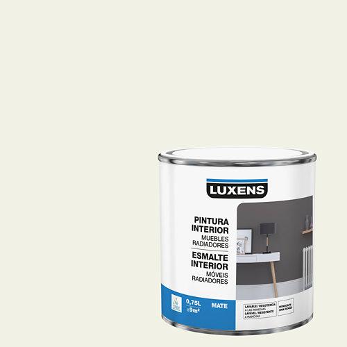 Esmalte de interior para muebles y radiadores mate luxens 750 ml paper 5