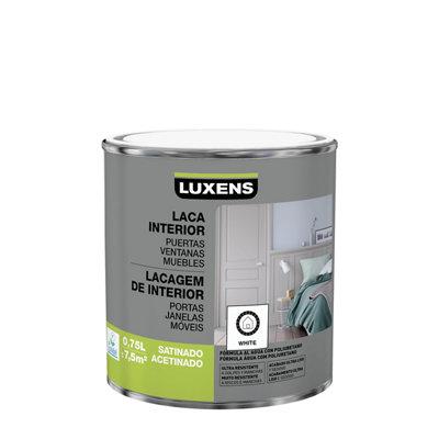 Esmalte laca interior LUXENS blanco satinado 0,75L