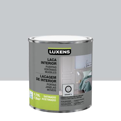Esmalte laca interior luxens granit 5 satinado 0,75l
