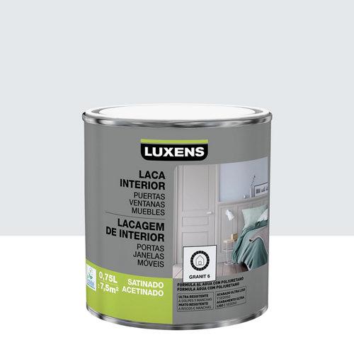 Esmalte laca interior luxens granit 6 satinado 0,75l