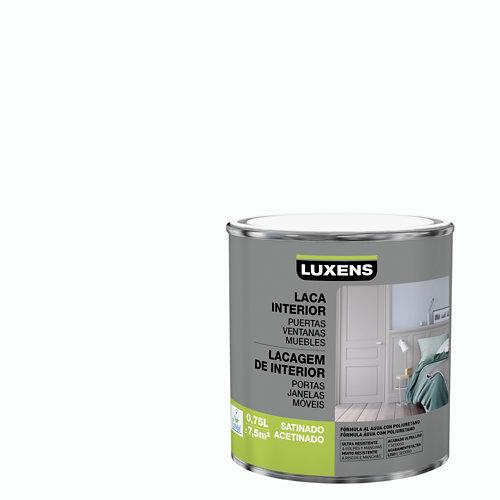 Esmalte laca interior luxens blanco brillo 0,75l
