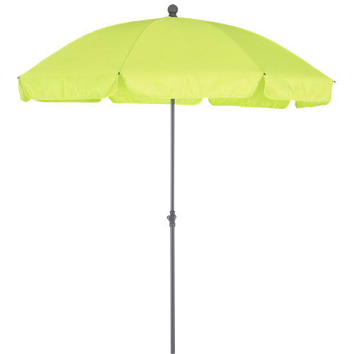Comprar Parasol redondo de acero naterial bigre lima ø200 cm