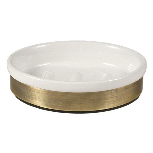 Jabonera modena blanco brillante