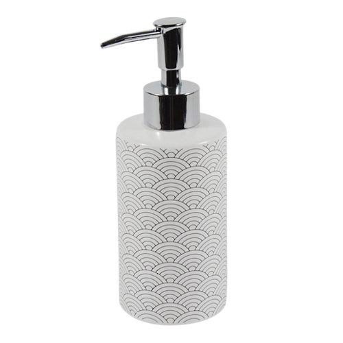 Dispensador de jabón okino de cerámico blanco