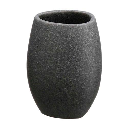 Vaso de baño sand gris / plata mate