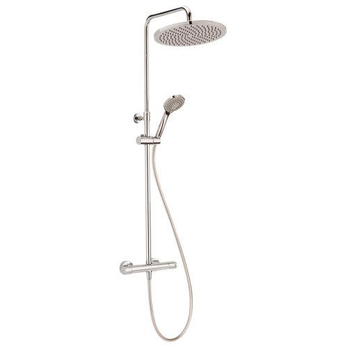 Columna ducha termostático huber levity gris