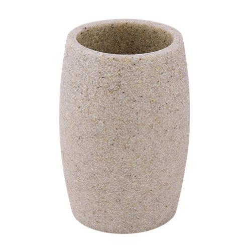 Vaso de baño sand beige mate