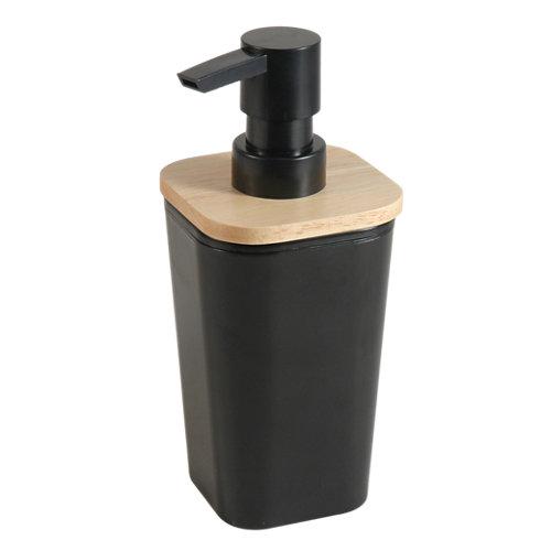 Dispensador de jabón scandi negro