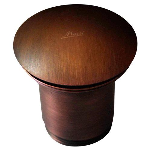 Válvula desagüe decorativa clic-clac ø32mm cobre