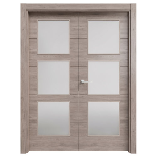 puerta berna gris de apertura derecha de 105 cm