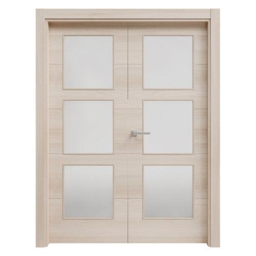 puerta berna acacia de apertura izquierda de 125 cm