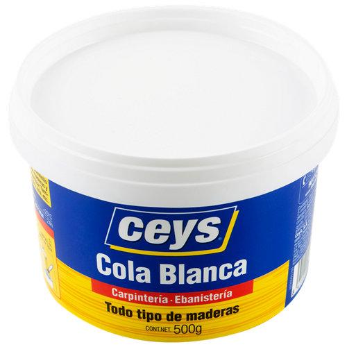 Cola blanca para carpintería ceys 500 gr