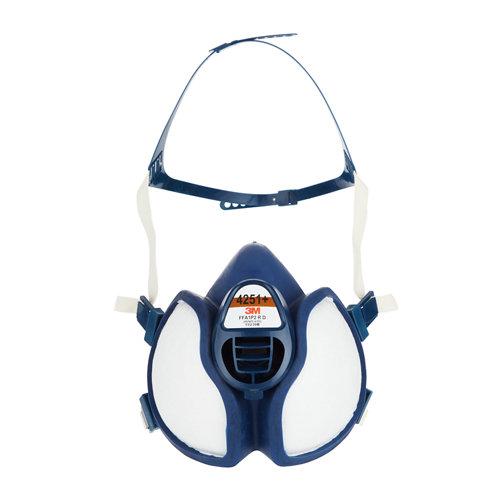 Mascarilla con filtro para gases y productos químicos 3m