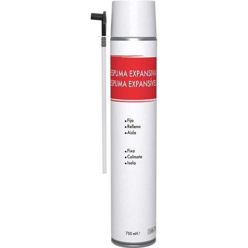 Espuma de poliuretano económica 750 ml