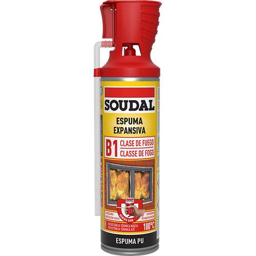 Espuma expansiva fuego genius 500 ml