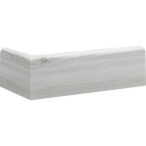 Zócalo mdf artens 8 cm blanco mod003