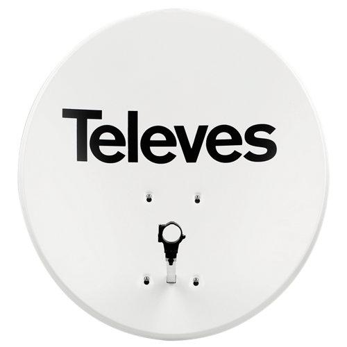 Antena parabólica televés de 80 cm