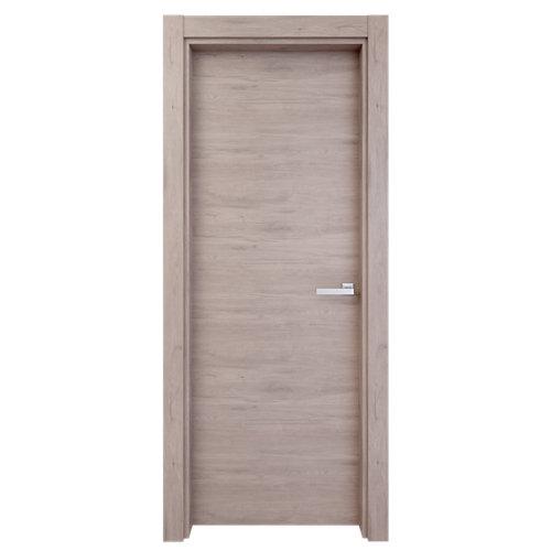 Puerta de interior oslo gris de apertura izquierda de 62,5 cm