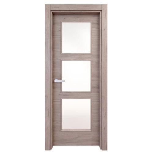 puerta oslo gris de apertura izquierda de 72.5 cm