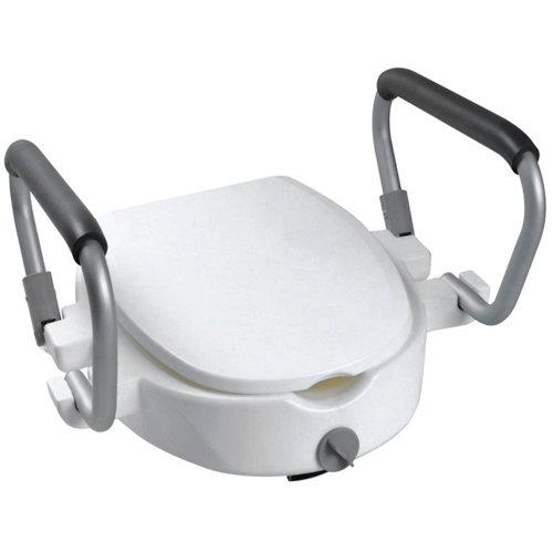 Elevador para wc . gris / plata 45x30 cm