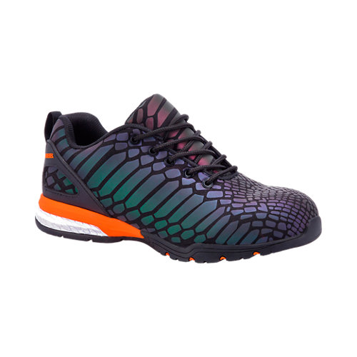 Zapatos de seguridad paredes camaleon s3 multicolor t47