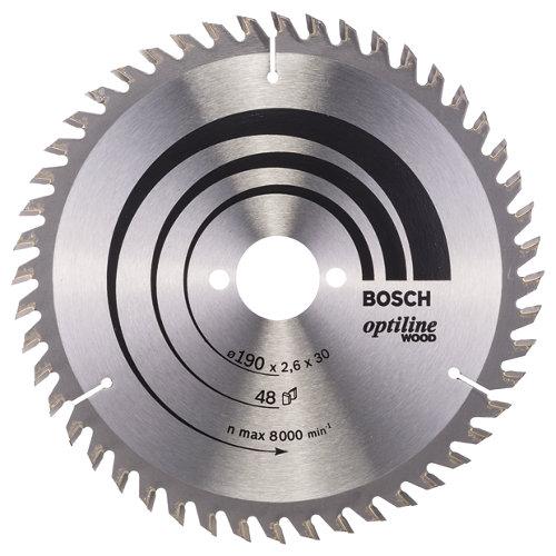 Hoja de sierra para bosch 48t de 30 mm