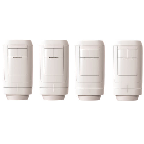 Pack 4 válvulas termostáticas inteligentes honeywell evohome