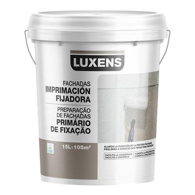 Imprimación fijadora para fachadas LUXENS blanco 15L