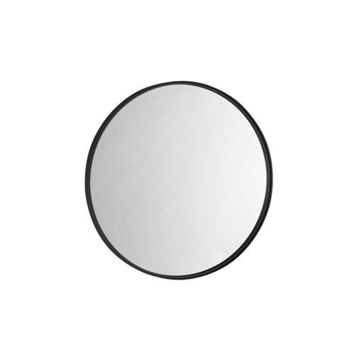 Espejo de baño kende negro 60 x 60 cm