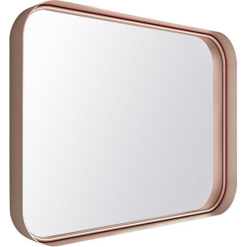 Espejo de baño kende rosa 80 x 60 cm