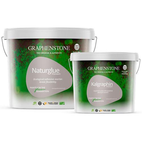Mortero adhesivo con grafeno naturglue 13 kg