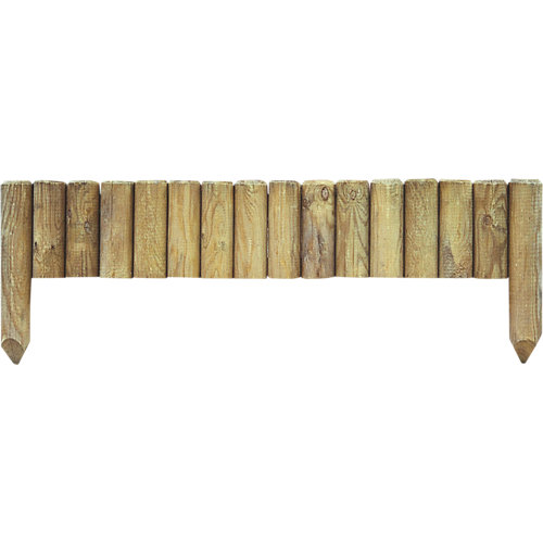 Bordura recta de madera 35x112 cm