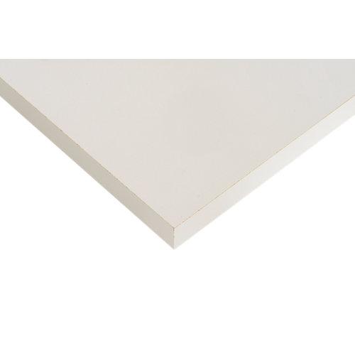 Tablero aglomerado de 4 cantos gris coco 59,7x120x1,6 cm (anchoxaltoxgrosor)