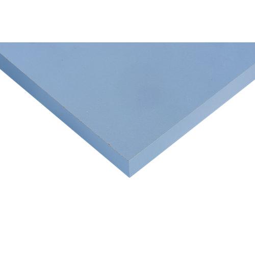 Tablero aglomerado de 4 cantos azul talco 59,7x120x1,6 cm (anchoxaltoxgrosor)