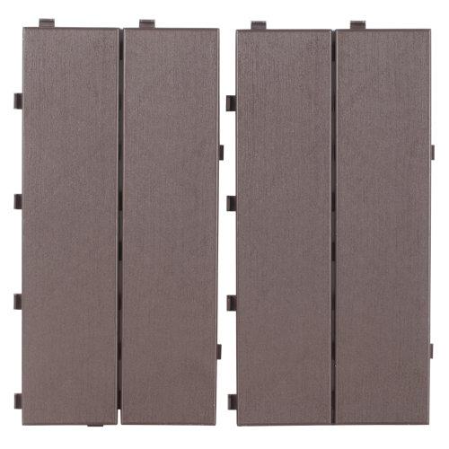 Pack 14 baldosas de composite exterior easyplate 40x20 cm