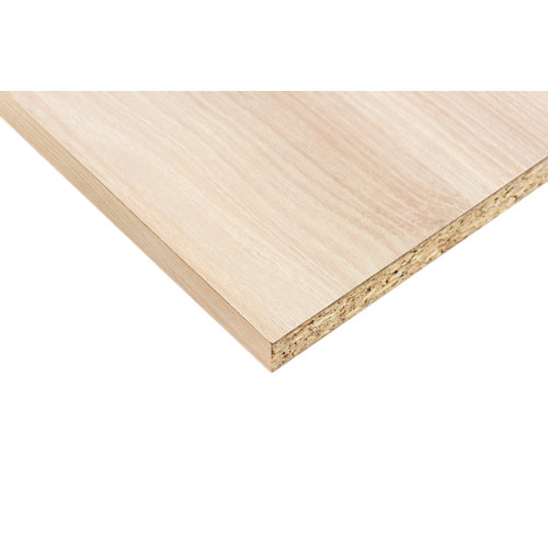 Tablero aglomerado con 2 cantos acacia 59,7x244x1,6 (anchoxaltoxgrosor)