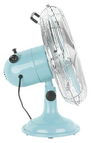 Ventilador de pie EQUATION Mini Cooma azul · LEROY MERLIN