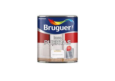 Esmalte laca interior BRUGUER blanco satinado 0,75L
