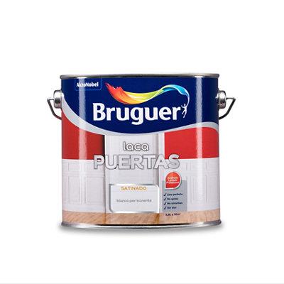 Esmalte laca interior satinado Bruguer 2,5 L blanco