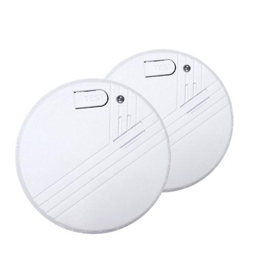 Pack de 2 detectores de humos garza